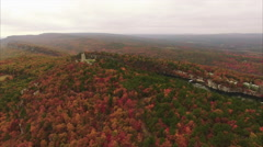 Stock Video Footage of Mohonk Preserve Upstate NY