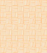 Seamless pattern with hand drawn chevron line grid, vector illustration Stock Illustration