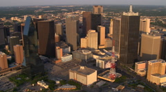 Dallas, Texas, skyline. Shot in 2007. - stock footage