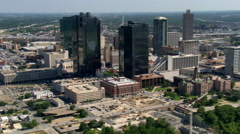 West side of Ft. Worth, Texas. Shot in 2007. - stock footage
