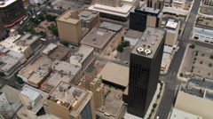 El Paso, looking south. Shot in 2007. Stock Footage