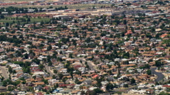 El Paso suburbs. Shot in 2007. Stock Footage