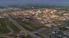 Wide view of Lubbock, Texas. Shot in 2007. Stock Footage