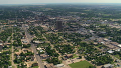 Wide view of Abilene, Texas. Shot in 2007. Stock Footage
