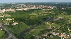 Abilene, Texas. Shot in 2007. Stock Footage