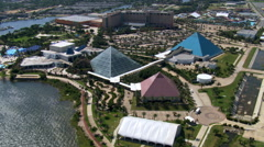 Moody Gardens in Galveston, Texas. Shot in 2007. Stock Footage