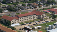 Fort Crockett, Galveston. Shot in 2007. Stock Footage