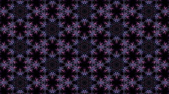 Tranquil purple kaleidoscopic background - stock footage