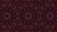 Tranquil purple kaleidoscopic background Stock Footage