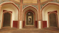 Humayuns tomb - India Stock Footage
