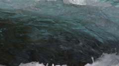 Close-up rapids - stock footage