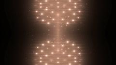 VJ Fractal orange kaleidoscopic background. Stock Footage