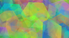 Abstract Animated Hexagon Background Full HD - stock footage