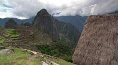 Machu Picchu: Eastern Urban Center and Plaza, Peru Stock Footage