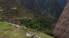 Machu Picchu: Eastern Urban Center and Sacred Plaza, Peru Stock Footage
