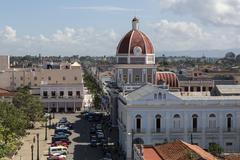 Cuba, Cienfuegos Stock Photos