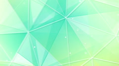 Cyan triangles and lines pattern seamless loop Stock Footage