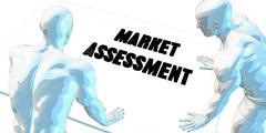 Market Assessment - stock illustration