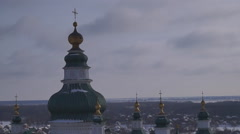 Trinity Cathedral, dome Stock Footage