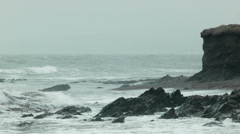 Irish coastline - stock footage