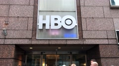 HBO Headquarters New York CIty Stock Footage