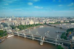 London Aerial View Kuvituskuvat