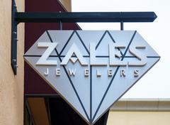 Zales Jewelers Exterior Sign and Logo Kuvituskuvat