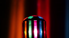 Colorful Party Ball Light Stock Footage