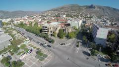 Stock Video Footage of Aerial view of Mostar, Bosnia-Herzegovina