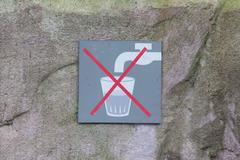 Do not drink water Kuvituskuvat