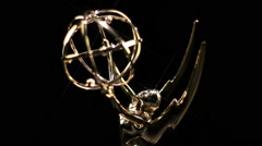 Emmy Award Rotate Star Filter - stock footage