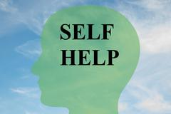 Self Help concept Stock Illustration