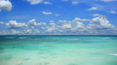 Tropical seascape Stock Footage