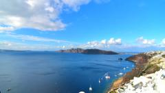 Timelapse at Oia,Santorini - stock footage