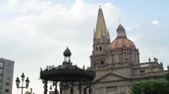 Guadalajara Cathedral - stock footage