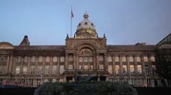 Birmingham Museum and Art Gallery, UK Stock Footage