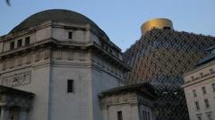 Birmingham Library, UK Stock Footage