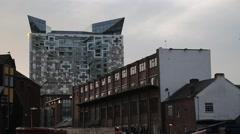 The Cube - Birmingham, UK Stock Footage