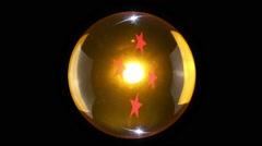 Four Star Dragonball Stock Footage