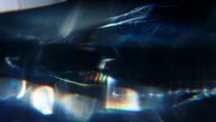 Diamond Prism Macro  - stock footage