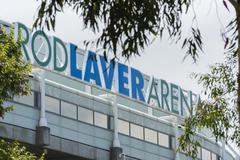 Rod Laver Arena - stock photo