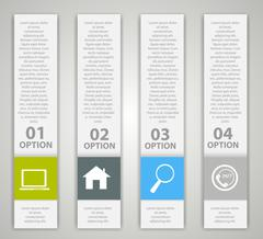 Stock Illustration of Infographic Design Elements for Your Business Vector Illustration