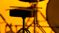 Detail Of Drum - stock footage