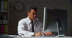 Surviving the Workday - stock footage