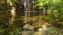 Moremi Gorge Waterfall Botswana Stock Footage