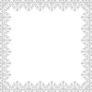 Stock Illustration of Floral Fine Frame