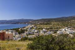 Stock Photo of Aerial view of Agios Nikolaos