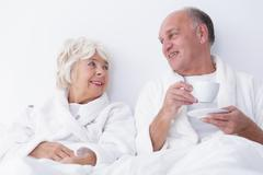 Sexuality in older age Stock Photos