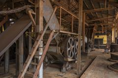 Sugar mill built in 1880's - stock photo