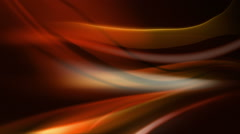 Abstract light waves flowing over black background. 3 in 1. Loopable. Stock Footage